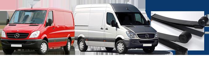 Mercedes-Benz Compatible Van Springs