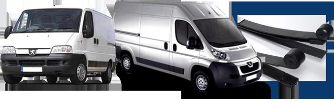 Peugeot Compatible Van Springs