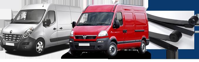 Vauxhall & Renault Compatible Van Springs